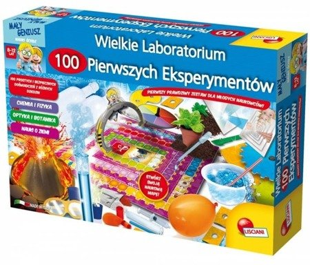 I'm a Genius science Wielkie laboratorium 100...