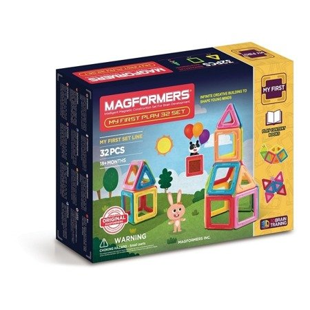 Magformers My First Play 32 elementów