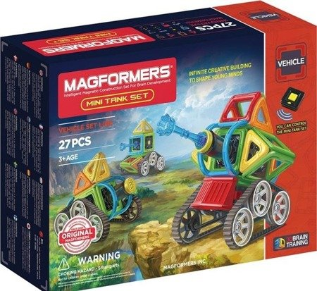 Magformers Vehicle mini Tank set 27